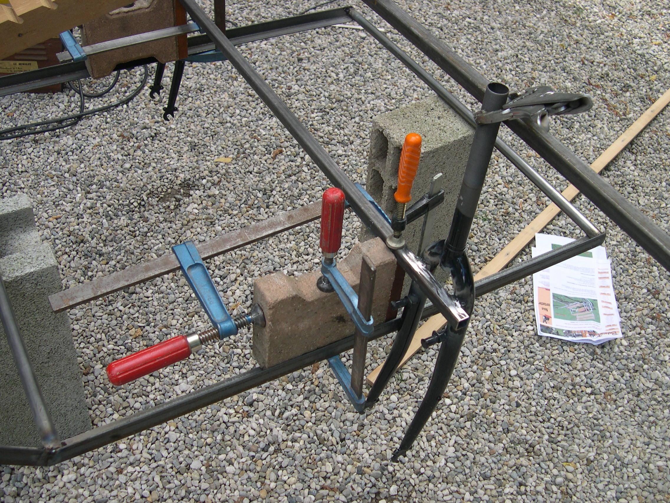 fabrication d une charrette pour anes
